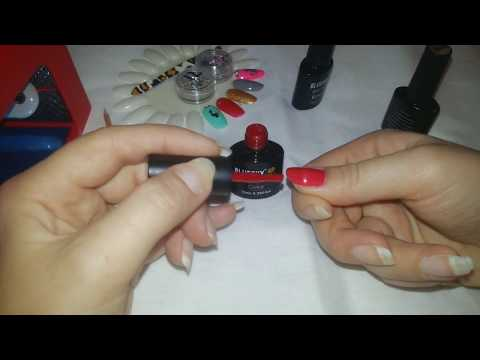 Как накрасить ногти гель лаком/в домашних условиях/для новичков