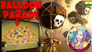 CLASH OF CLANS|ATTACK WITH ALL LOON STRATEGY ON 3 different goblin maps.😊