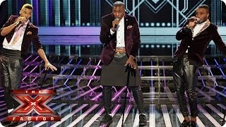 Rough Copy sing Hit The Road Jack by Ray Charles - Live Week 5 - The X Factor 2013