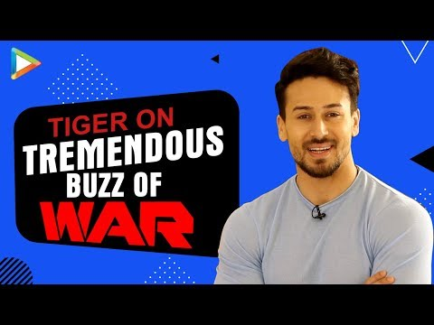 WAR- Tiger Shroff's EXCLUSIVE Message For Audiences:\