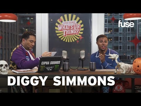 Diggy Simmons Shares Vintage Vibes | What's Ur Thing | Fuse