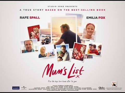 MUM'S LIST Official Trailer - Rafe Spall & Emilia Fox (2016) [HD]