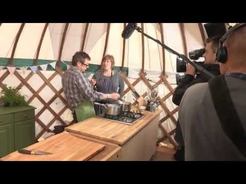 River Cottage  Hugh FearnleyWhittingstall  Three Good Things  Behind the s