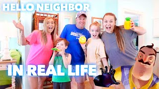 HELLO NEIGHBOR IN REAL LIFE ( At Our Beach House) | Family 5 Vlogs