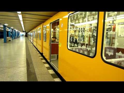 U-Bahn Berlin Bahnhof Friedrichsfelde U5 [HD]