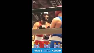 Conor McGregor in amateur boxing fight highlights