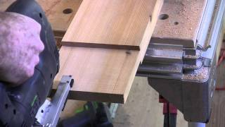 Building Custom Gates: Cutting Tennons