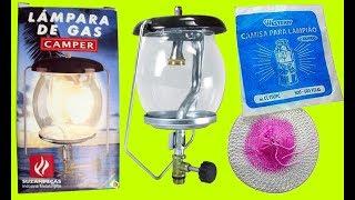 Aprenda como deixar seu lampião novo pronto para o uso.
