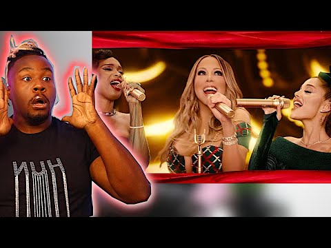 "Mariah Carey, Ariana Grande, Jennifer Hudson ""Oh Santa!"" REACTION!"