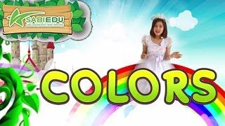 Bé Học Tiếng Anh Về MÀU SẮC Qua Thẻ Tiếng Anh MA THUẬT - Magic English Flashcard Color