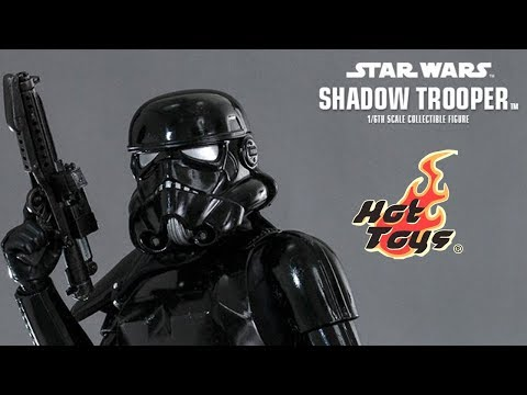 Increíble Shadow trooper HotToys - Star wars