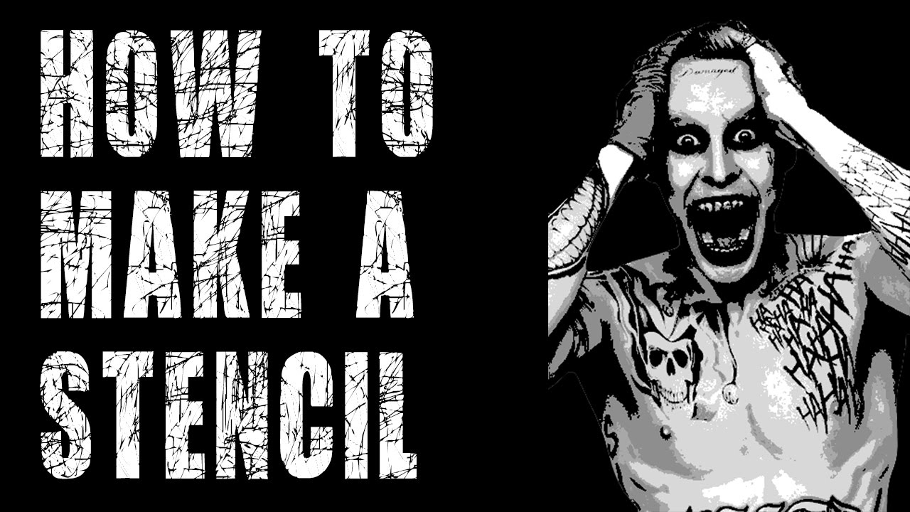 How To Make A Stencil in Photoshop CC