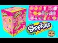 Box of Surprise Eraser Blind Bags  with Stickers + Season 4 Mystery Shopkins -Cookieswirlc