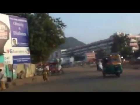 AP New Capital City Road Widening Works in Vijayawada at Hyd Road Bhavanipuram Nov 23,2015