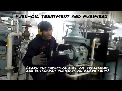 Purifiers and Fuel Oil Treatment on SHIPS!