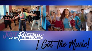 "Julie and the Phantoms BTS | ""I Got the Music"" Shot Compare"