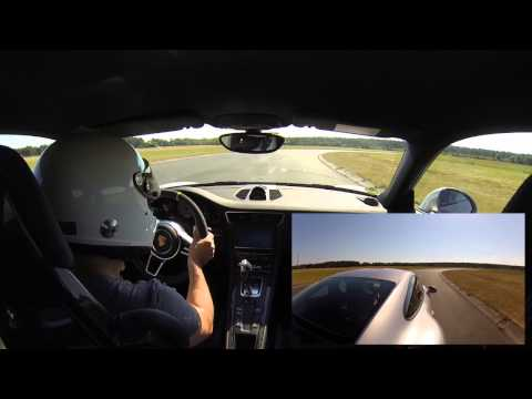 Porsche 911 GT3 RS contidrom video