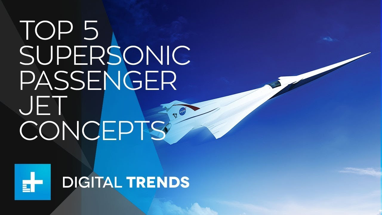 5 Private Supersonic Passenger Jet Concepts