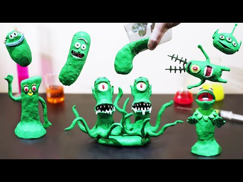 The Green Claymation (a Stop Motion animation)