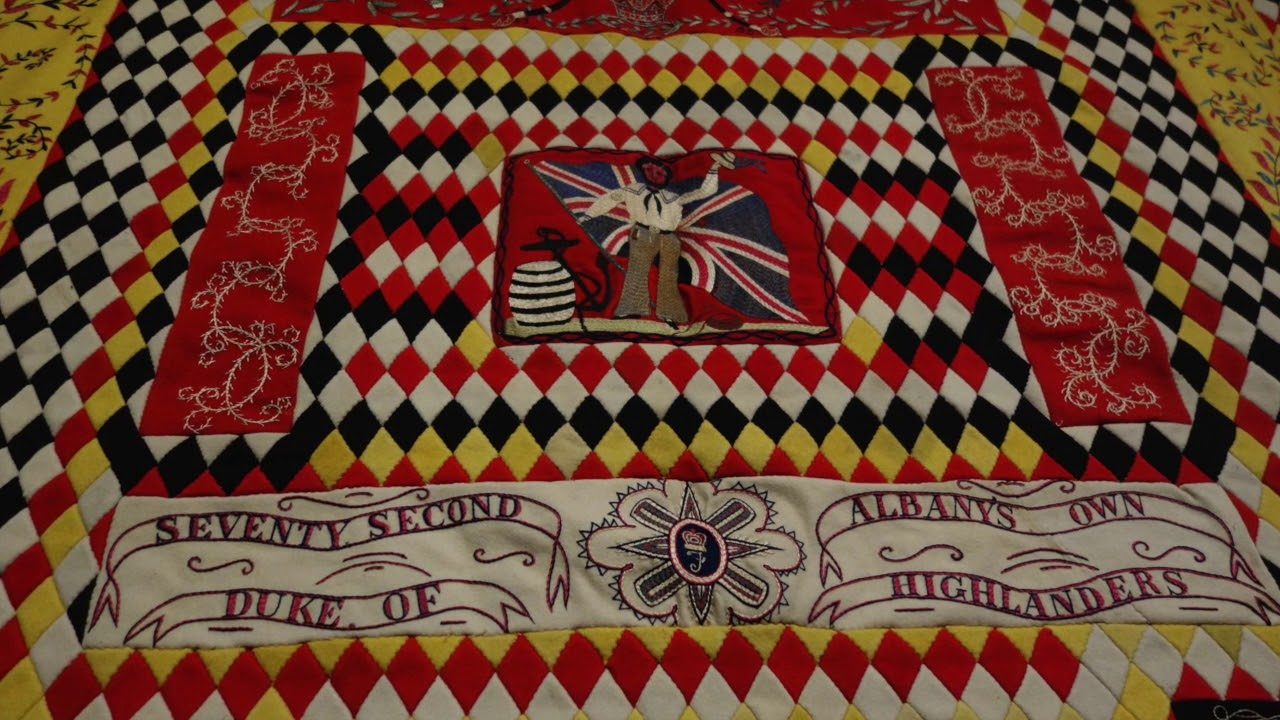 Highlights from WAR AND PIECED: The Annette Gero Collection of ... : military quilts - Adamdwight.com