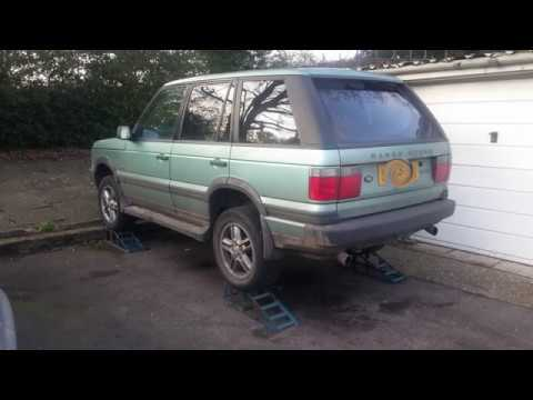 Range Rover P38 4.6 Exhaust Centre Box Removal and Refit