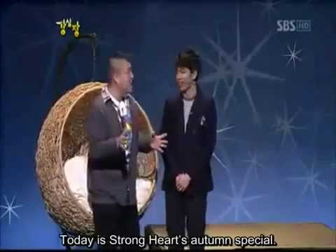 Lee Seung Gi sings for Ho Dong on strong heart