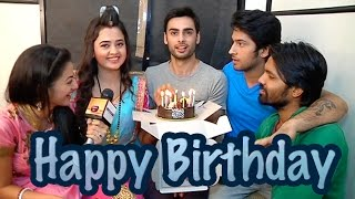 Varun Kapoor aka Sanskar of SWARAGINI celebrates his birthday with cast of Swaragini