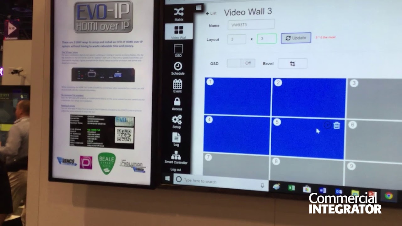 Vanco Evolution HDMI over IP at InfoComm 2018