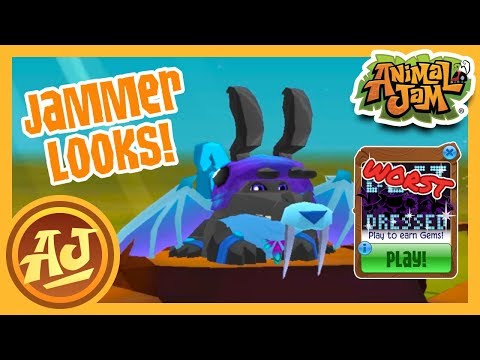 The Best and WORST Dressed Part Deux! | Animal Jam Play Wild - Jammer Looks