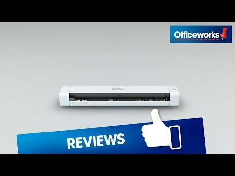 Brother Ds 620 Portable Scanner Overview Youtube