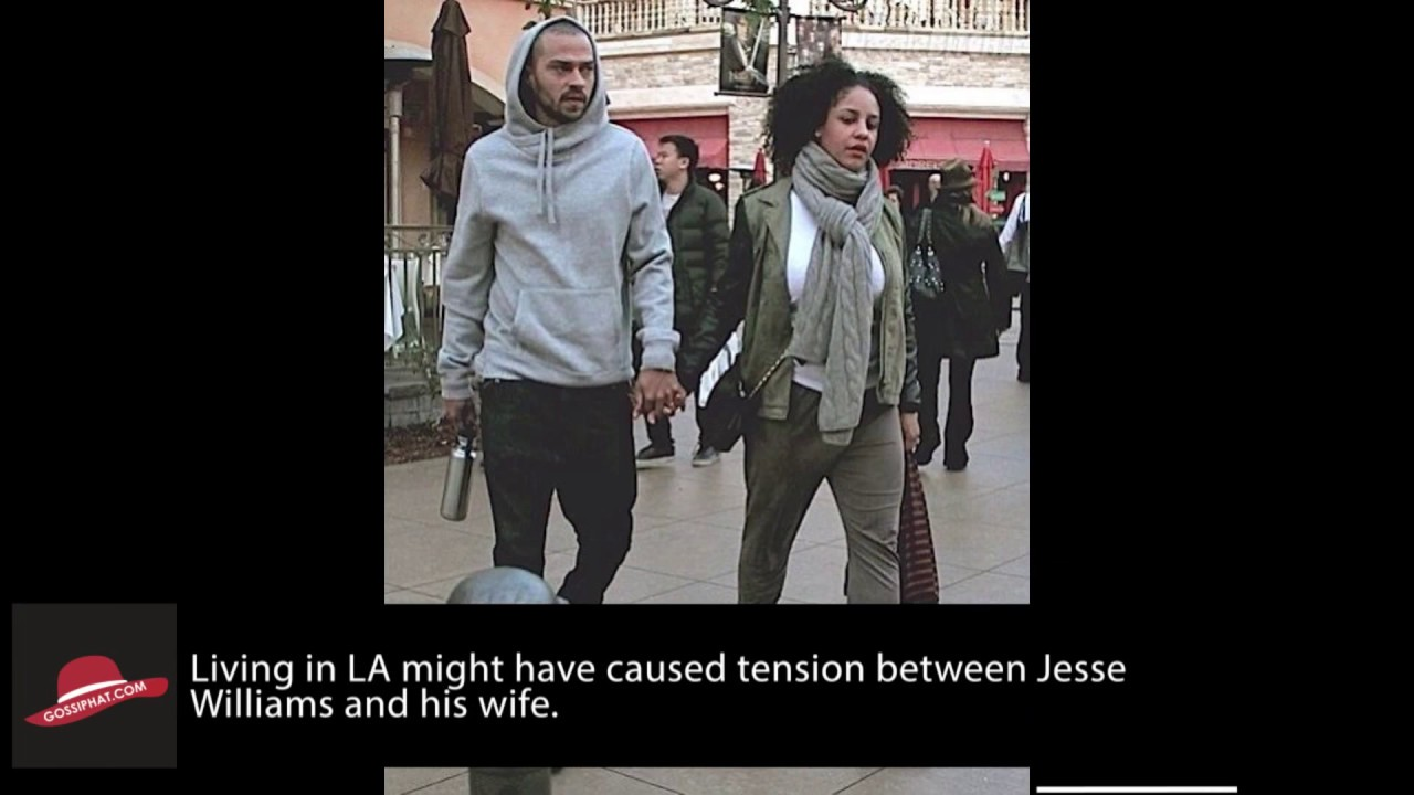 Jesse Williams' Estranged Wife Says He Introduced Kids to ...