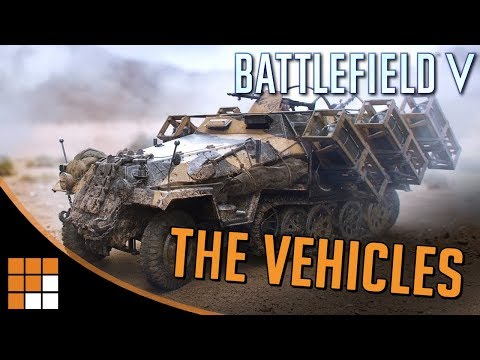 All The Vehicles from the Battlefield V Reveal + Some You Didn't See!