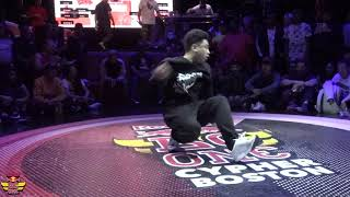 Icey Ives Vs P-Nut - Finals - Red Bull BC One Boston Cypher 2018 - #BCONE - BNC