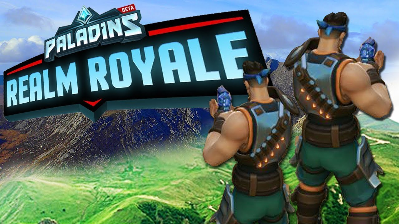 TESTEI O PALADINS REALM ROYALE - YouTube