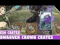 Dwarven Crowns Crates Opening! ESO Crown Crates