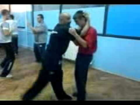 Wing Chun Muay Thai school in Serbia - deffending head grip, elbows and knees