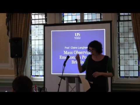 Emotion, Memory & the Mind - Claire Langhamer