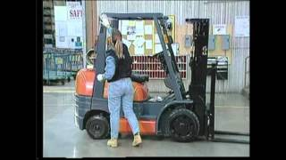 Forklift Training  Module 3 Pre Operational Safety Check