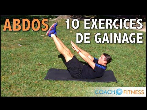 10 exercices de gainage pour les abdominaux - CoachFitness ...