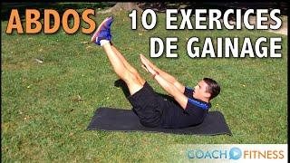 10 exercices de gainage pour les abdominaux - CoachFitness