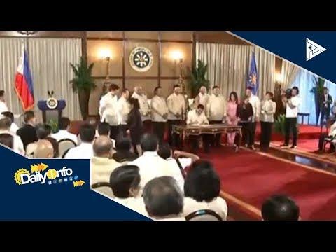Universal Health Care Act, nilagdaan na ni Pres. #Duterte