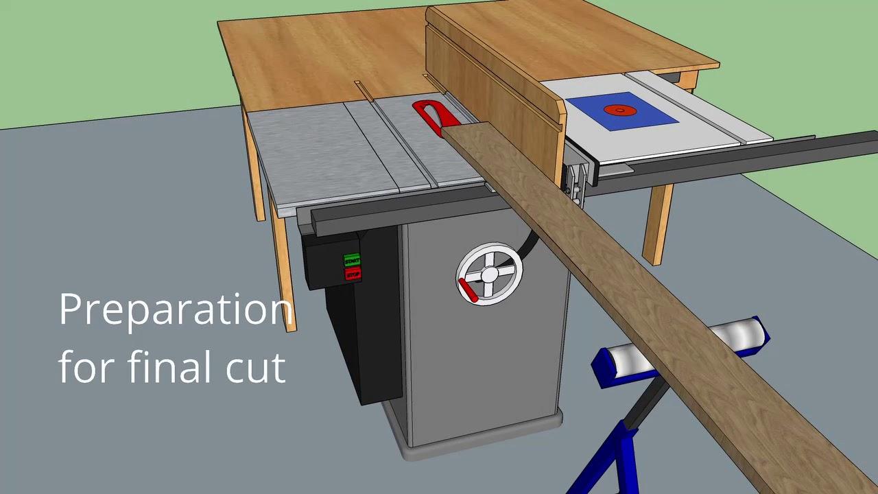 Table Saw Planer Jig