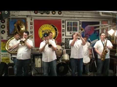Jack Brass Band @ Louisiana Music Factory 2012