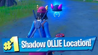 Find SHADOW OLLIE in Weeping Woods Location - Fortnite Battle Royale