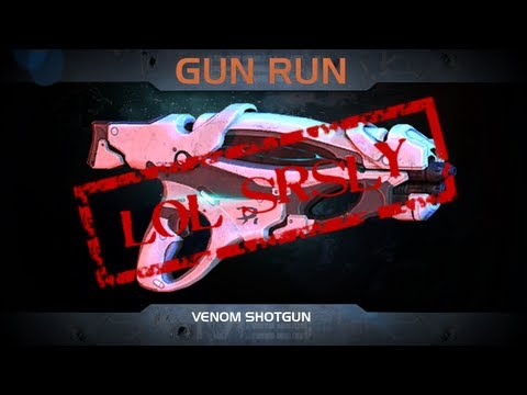 ME3M: Venom Shotgun | Gun Run (lol Seriously)