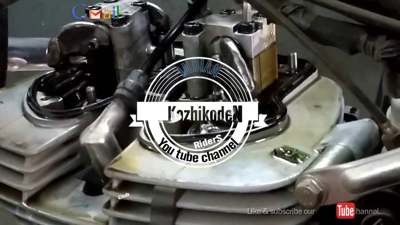 Bullet Engine Head Servicesome Noise Like Tik Tik Tik In Engine