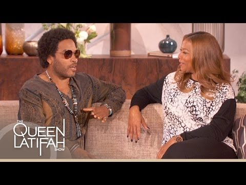 Lenny Kravitz Talks Living Fearlessly on The Queen Latifah Show