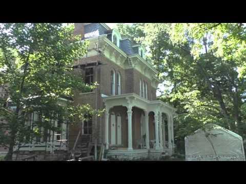 McPike Mansion ( 06/20/2015 ) Alton Illinois : Day Time Outside Walk - Through