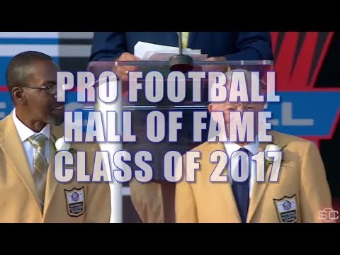 Best Moments From The Pro Football Hall Of Fame | ESPN