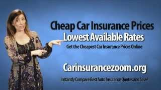 Compare Cheapest Car Insurance Companies  -  Free Quotes